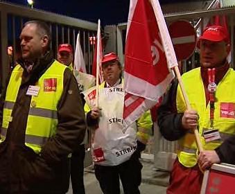 Stávka letištních zaměstnanců v Německu