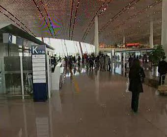 Letiště v Pekingu