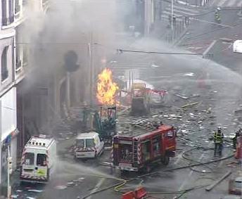 Výbuch plynu v Lyonu