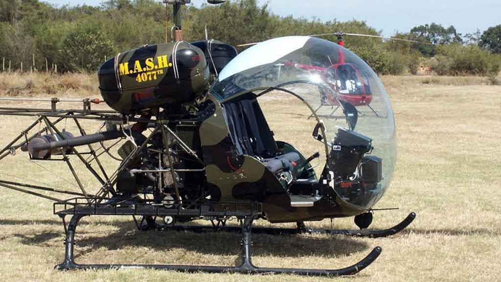 Vrtulník Bell 47G-MASH
