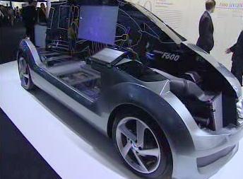 Studie automobilu na vodíkový pohon