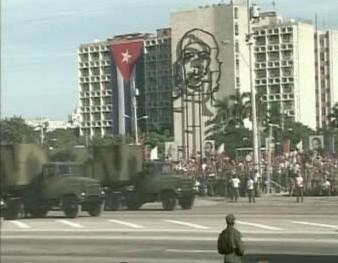 Přehlídka kubánských ozbrojených sil