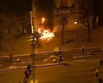 Nepokoje v Bělehradě