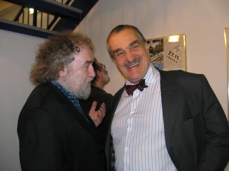 Joska Skalník a Karel Schwarzenberg