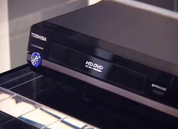 Přehrávač HD DVD značky Toshiba