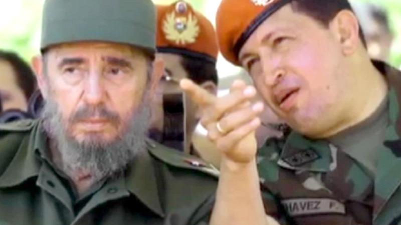 Fide Castrovi a Hugo Chavez