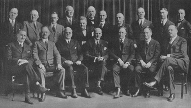 Zakládající členové klubu Rotary