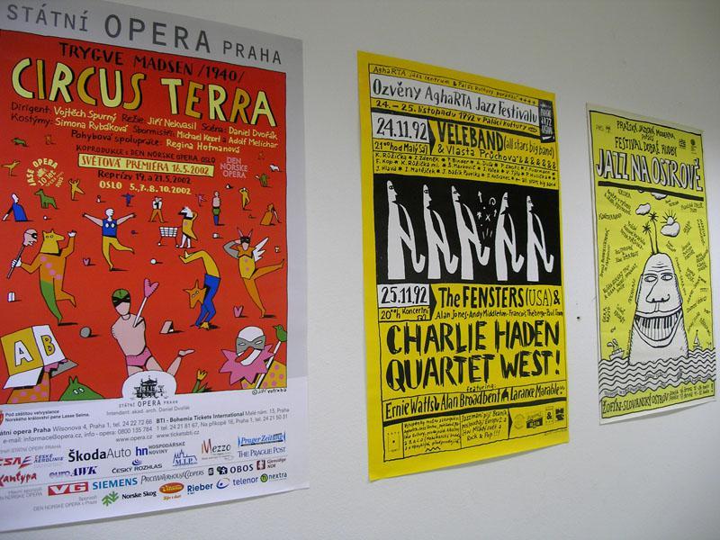 Jiří Votruba - plakáty