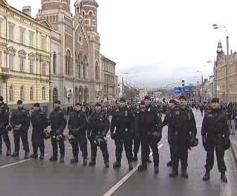 Policie zasahuje v Plzni
