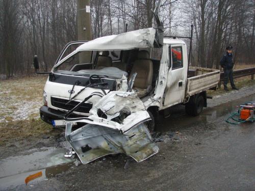 Nehoda dodávky