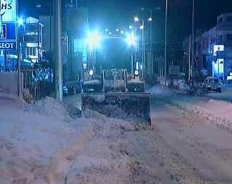 Odklízení sněhu z ulic