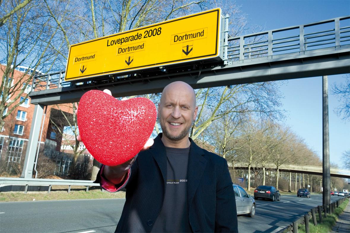 Pořadatel Love Parade Rainer Schaller