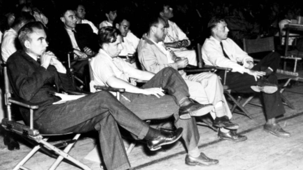 Oppenheimer s ostatními fyziky