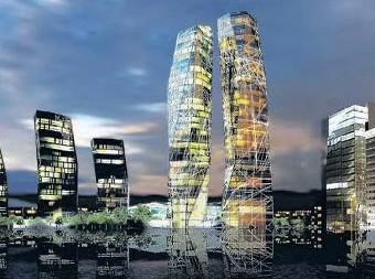Návrhy mrakodrapů