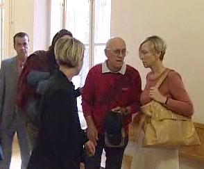 Eliška Mauerová u soudu