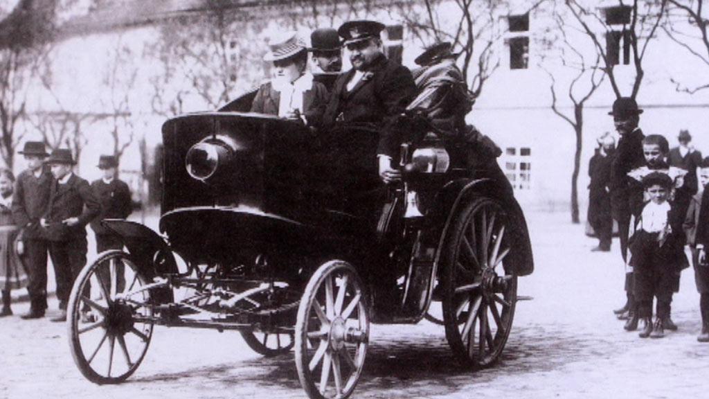 Počátky automobilismu