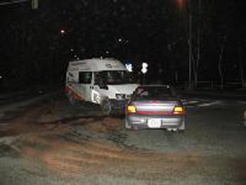 Dopravní nehoda v Pardubicích