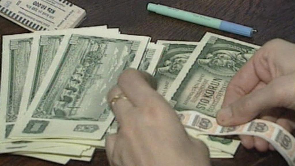 Kolkování bankovek