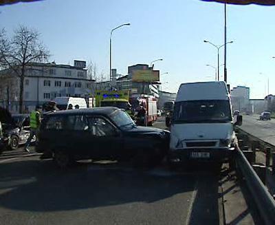 Nehoda na magistrále
