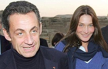 Nicolas Sarkozy a Carla Bruni