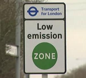 Emisní zóna v Londýně