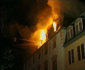 Požár Knihovny Anny Amálie z roku 2004