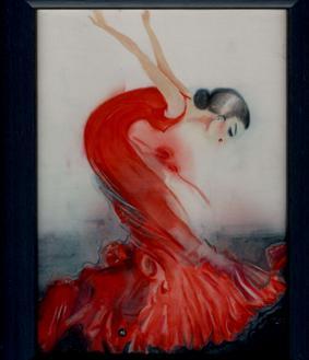Alice Végrová: Tanečnice flamenka