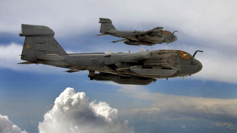 Americký letoun EA-6B Poder