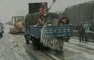 Sněhová kalamita v Číně
