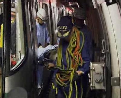 Výpadek elektřiny v tokijském metru