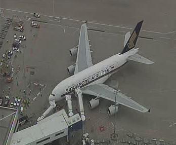 Airbus A380 v Sydney
