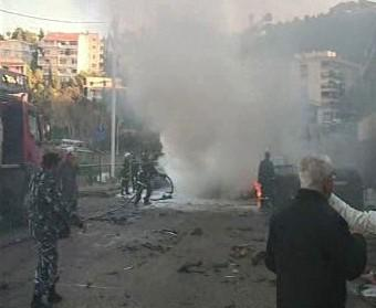 Pumový atentát v Libanonu