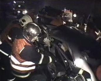 Nehoda na Praze 8