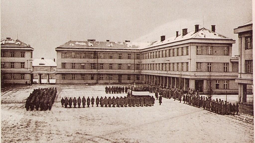 Kasárna v Židenicích - 30. léta