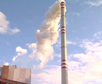 Komín elektrárny Prunéřov