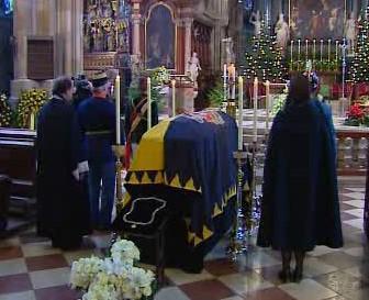 Pohřeb Carla Ludwiga Habsburského