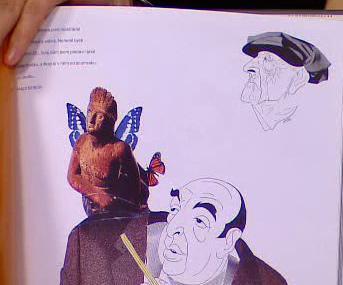 Krikatury, slavné tváře v čarách