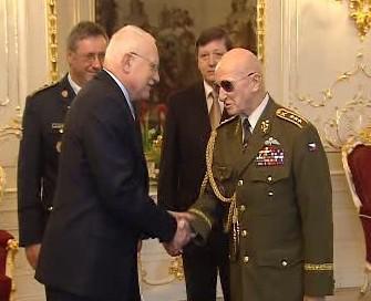 Prezident Klaus a generál Sedláček