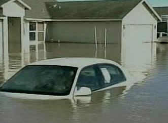 Záplavy v Nevadě