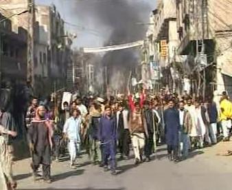 Nepokoje v Pákistánu