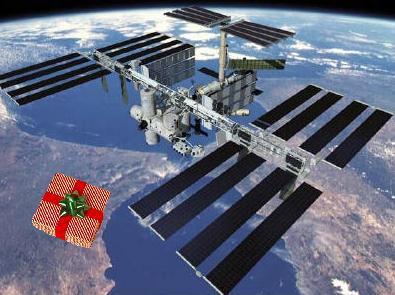 Dárky pro kosmonauty