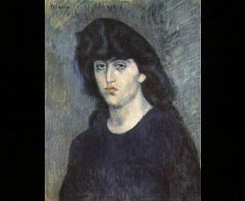 Portrét Suzanne Blochové