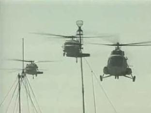 Polské vojenské helikoptéry