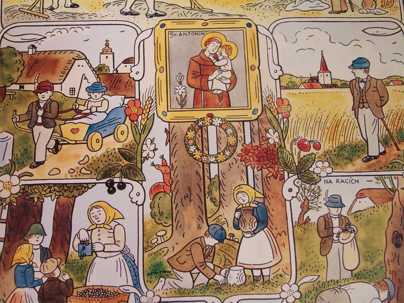Ilustrace Josefa Lady