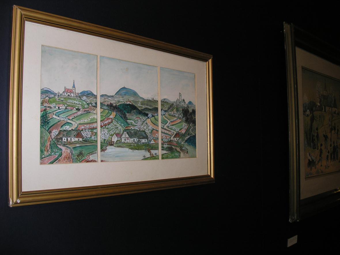 Josef Lada - obraz