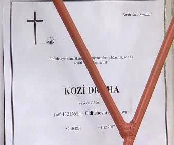 Parte zrušených tratí Českých drah