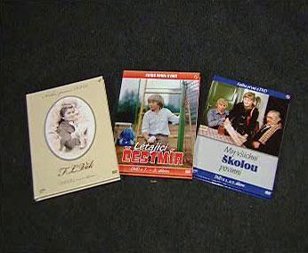 Seriály ČT na DVD