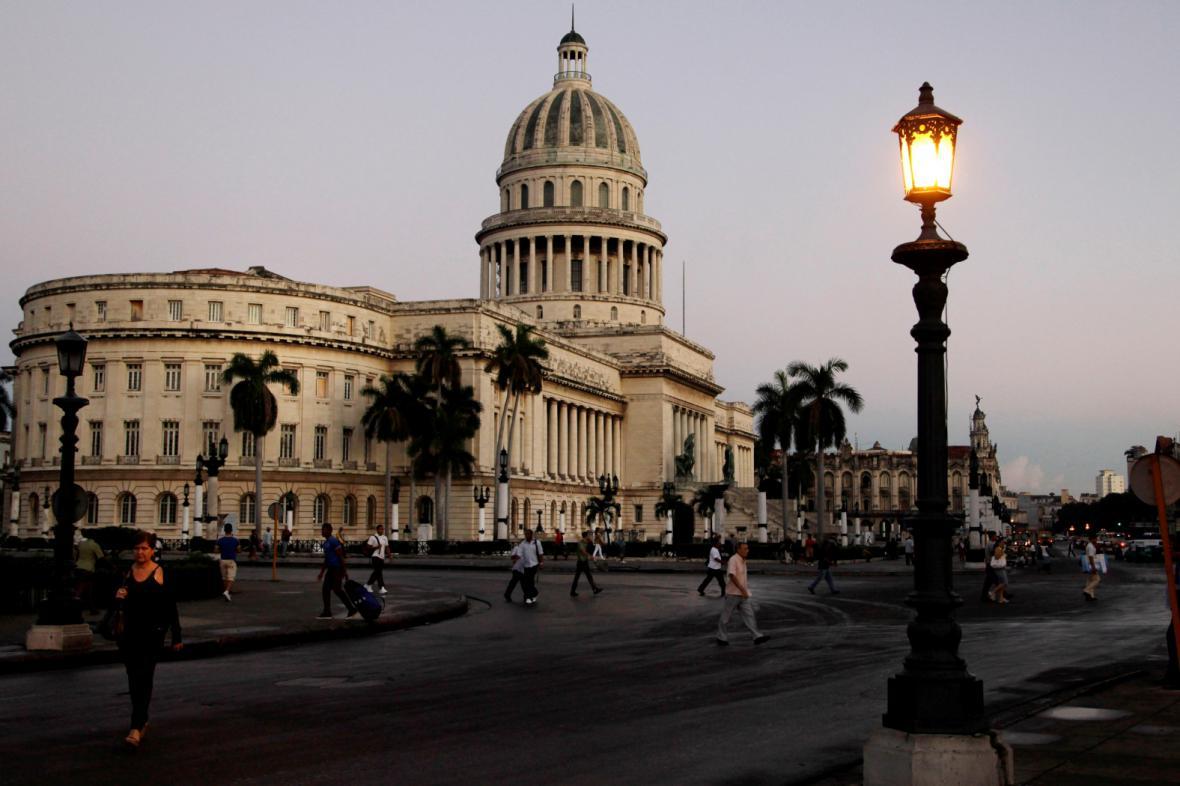 Budova Kapitolu v Havaně