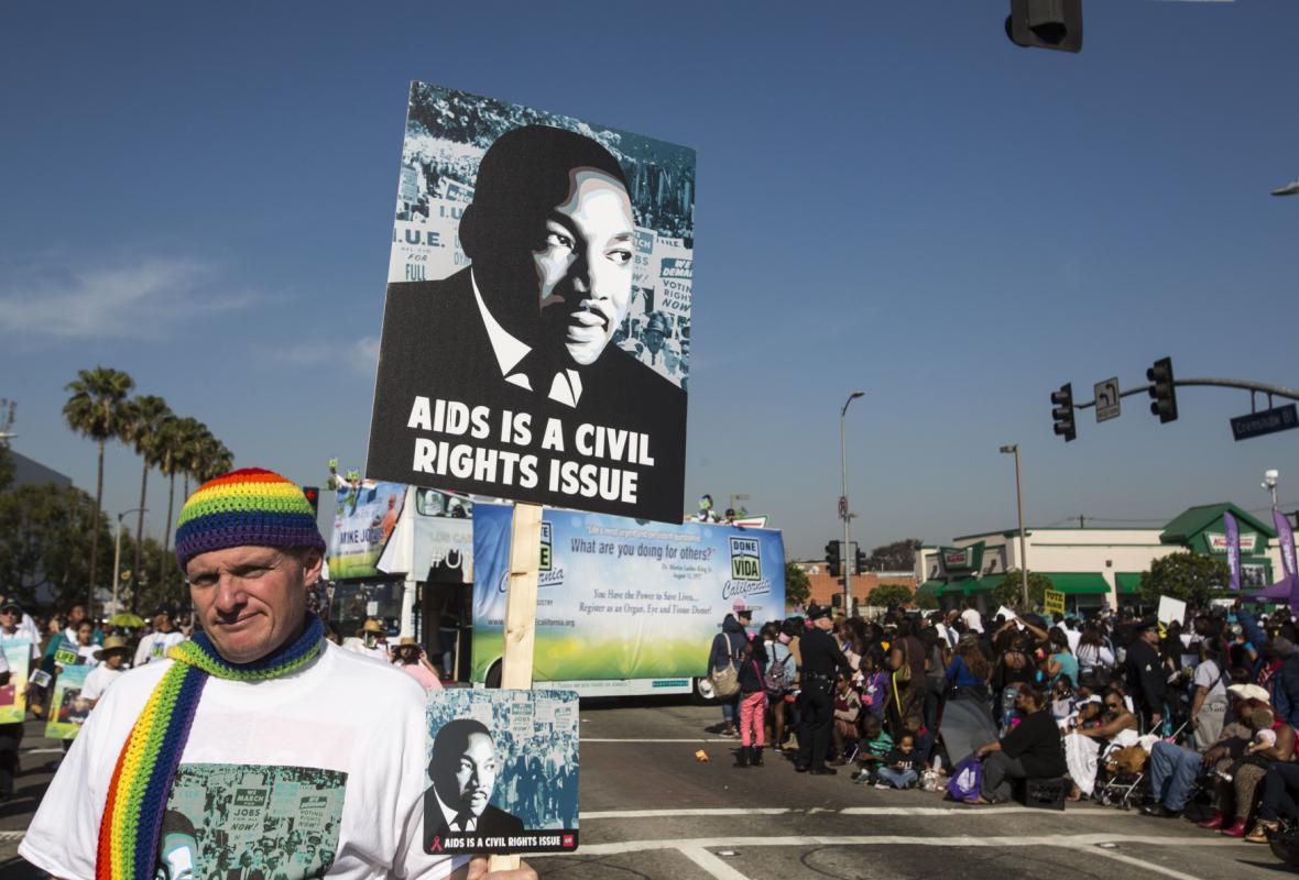 Pochod na počest Martina Luthera Kinga