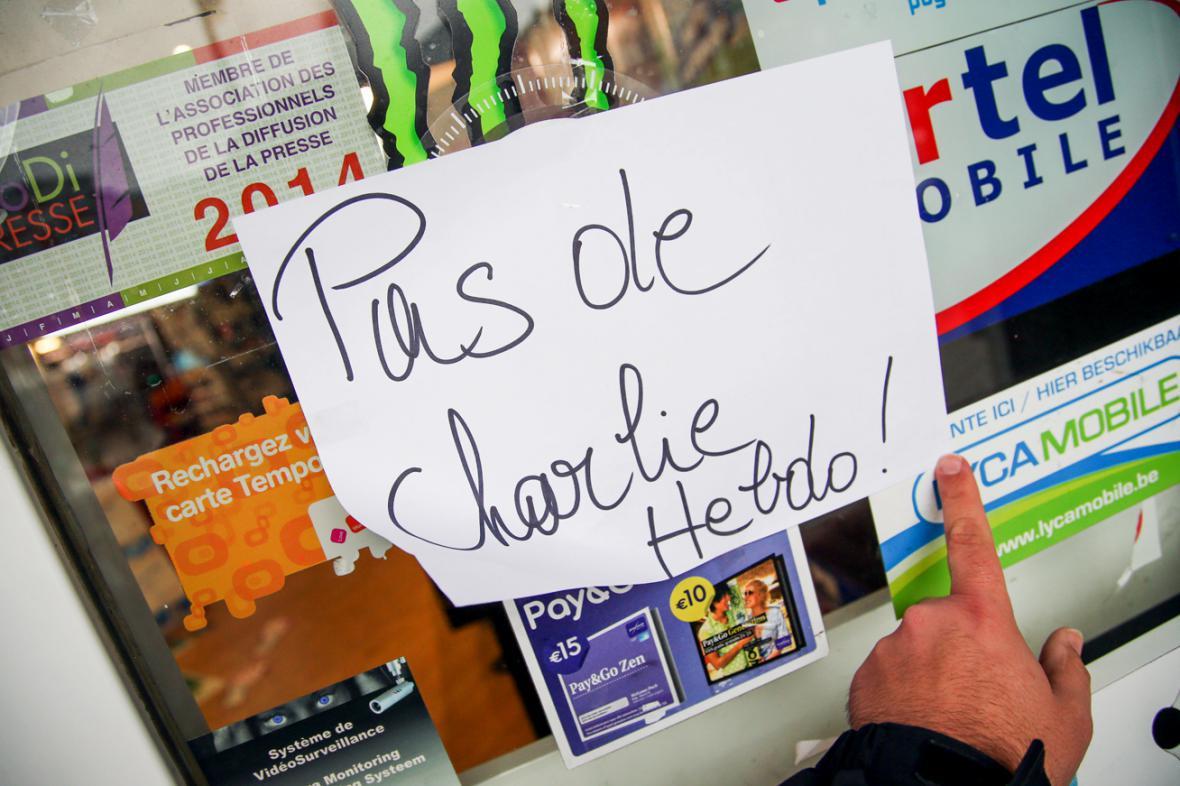 Charlie Hebdo nemáme!